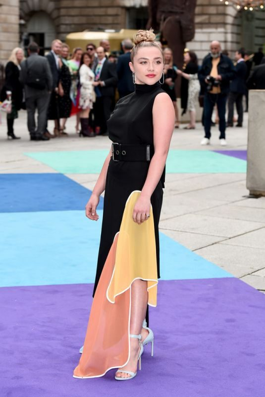 FLORENCE PUGH at Royal Academy of Arts Summer Exhibition Preview Party in London 06/04/2019