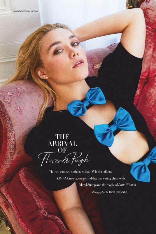 FLORENCE PUGH in Harper's Bazaar Magazine, Australia August 2019