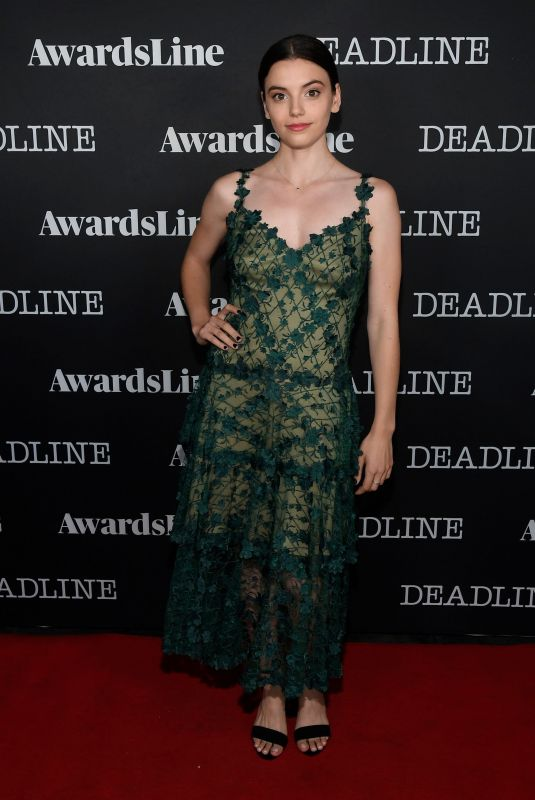 FRANCISCA REAL at Deadline Awards Season Party in Los Angeles 06/03/2019