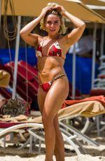GABBY ALLEN in Bikini at a Beach in Barbados 06/16/2019