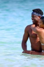GABRIELLE UNION in Bikini at a Beach in Cannes 06/21/2019