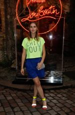 GAIA WEISS at Loubicircus Party by Christian Louboutin in Paris 06/19/2019