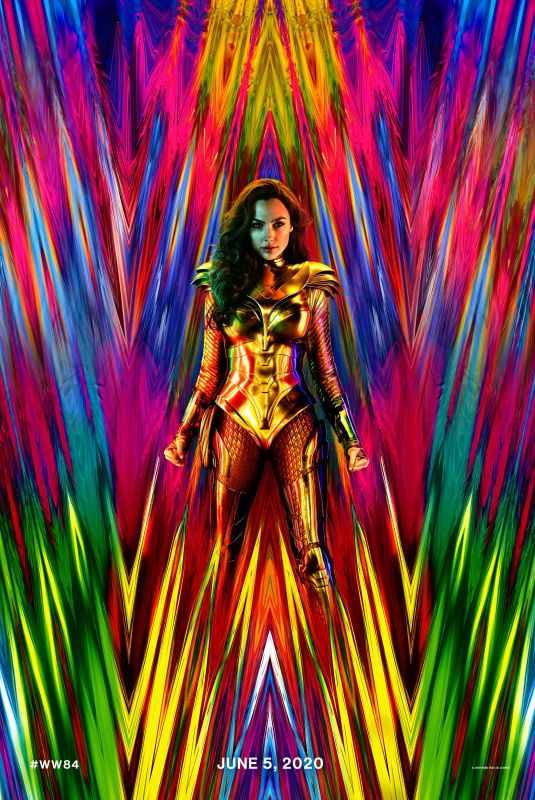 GAL GADOT - Wonder Woman 1984 Poster