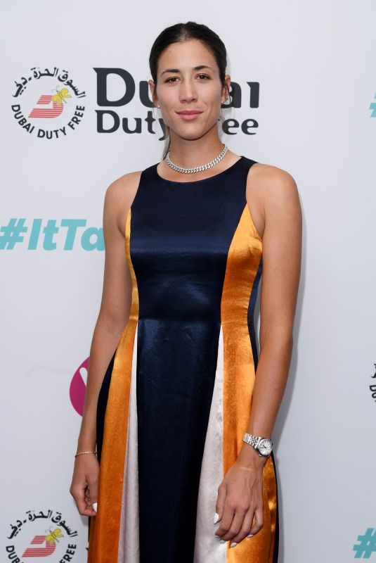 GARBINE MUGURUZA at Dubai Futy Free WTA Summer Party in London 06/28/2019
