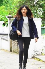 GEMMA CHAN Out and About in Primrose Hill 06/17/2019