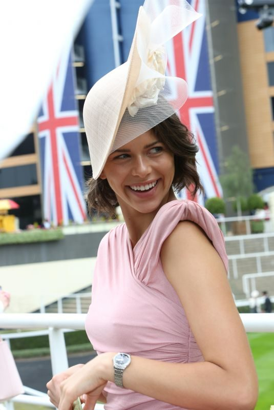 GEORGIA FOWLER at Royal Ascot at Ascot Racecourse in Berkshire 06/18/2019