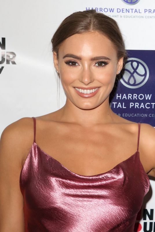 GEORGIE CLARKE at Harrow Dental Practice x Brain Tumour Charity Gala Dinner in London 06/22/2019