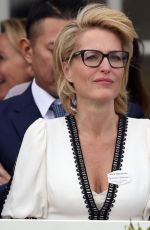 GILLIAN ANDERSON at Royal Windsor Cup Final in Egham 06/23/2019