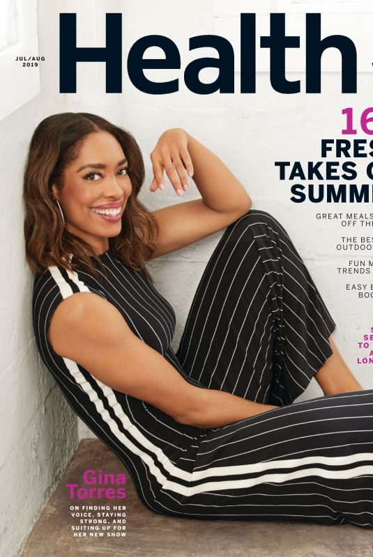 GINA TORRES in Health Magazine, July 2019