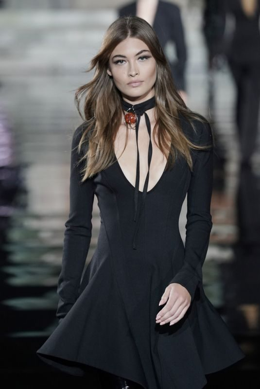 GRACE ELIZABETH at CR Runway x Luisaviaroma 90th Anniversary Show in Florence 06/13/2019