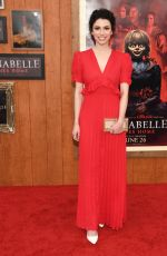 GRACE FULTON at Annabelle Comes Home Premiere in Westwood 06/20/2019