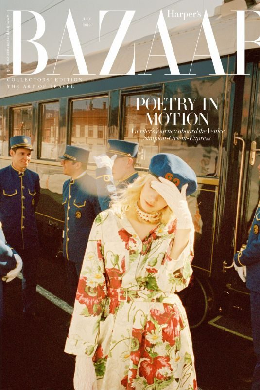 GRETA BELLAMACINA in Harper's Bazaar, UK July 2019 Issue