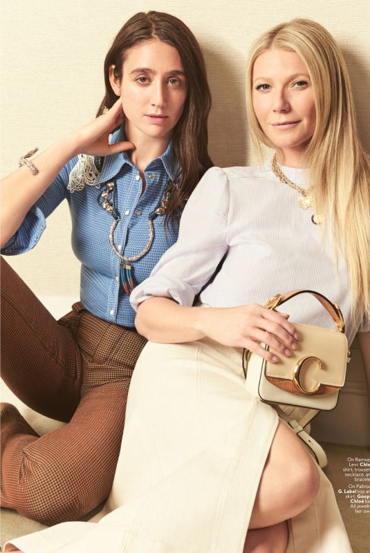 GWYNETH PALTROW and NATACHA RAMSEY-LEVI in Instyle Magazine, July 2019