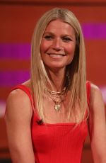 GWYNETH PALTROW at Graham Norton Show in London 06/17/2019