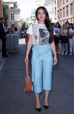 HAFSIA HERZI at Lanvin Menswear Spring/Summer 2020 Show at Paris Fashion Week 06/23/2019
