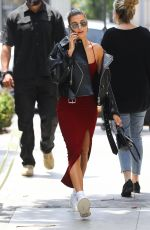HAILEY BALDWIN at Nine Zero One Salon in Los Angeles 06/05/2019