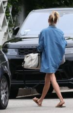 HAILEY BIEBER Arrives at Her Home in Beverly Hills 06/24/2019