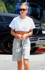 HAILEY BIEBER Heading to Cha Cha Matcha in Los Angeles 06/03/2019