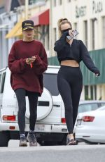 HAILEY BIEBER Leaves Pilates Class in West Hollywood 06/26/2019