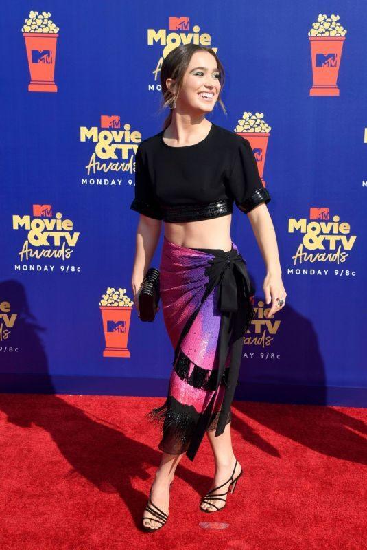 HALEY LU RICHARDSON at 2019 MTV Movie & TV Awards in Los Angeles 06/15/2019