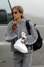 HALLE BERRY Leaves a Gym in Los Angeles 06/13/2019