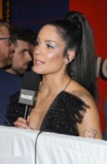 HALSEY at MTV Miaw Awards at Palacio De Los Deportes in Mexico City 06/21/2019