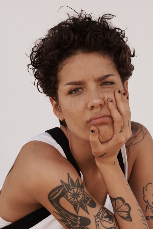 HALSEY for Rolling Stone, Magazine, July 2019
