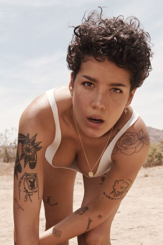HALSEY in Rolling Stone Magazine, July 2019