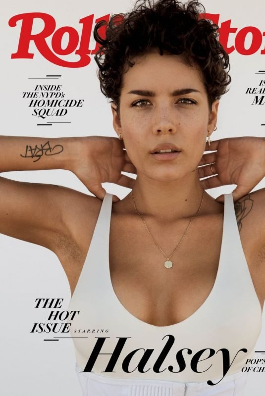 HALSEY on the Cover of Rolling Stone Magazine, July 2019