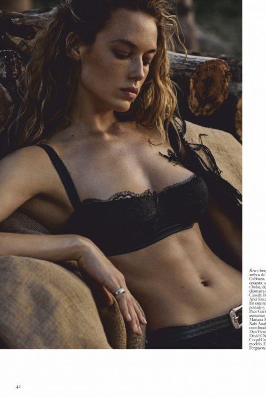 HANNAH FERGUSON in Vogue Magazine, Mexico June 2019