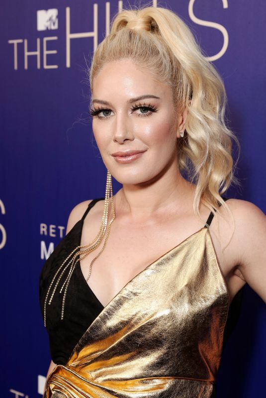 HEIDI MONTAG at The Hills: New Beginnings Premiere Party in Los Angeles 06/19/2019