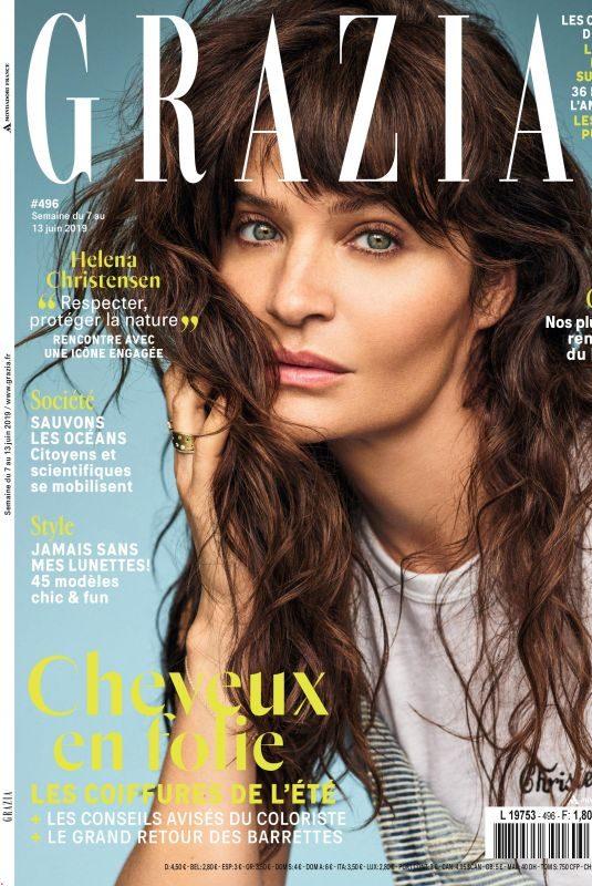 HELENA CHRISTENSEN in Grazia Magazine, France June 2019