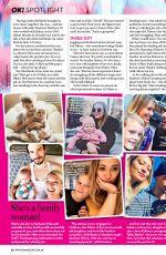 HILARY DUFF in Ok! Magazine, Australia July 2019