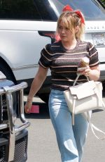 HILARY DUFF Out and About in Los Angeles 06/24/2019