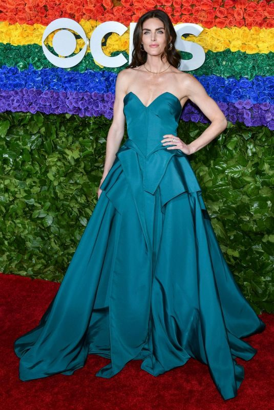 HILARY RHODA at 2019 Tony Awards in New York 06/09/2019