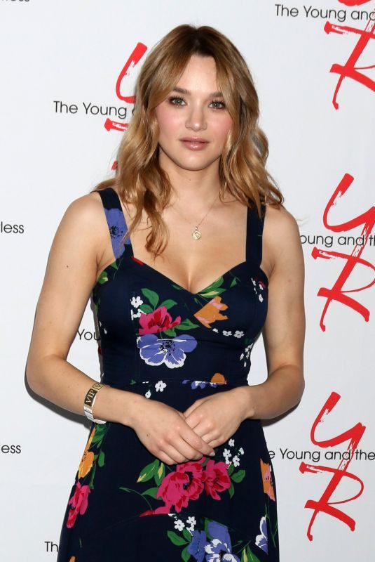HUNTER HALEY KING at Young and the Restless Fan Club Luncheon in Burbank 06/23/2019