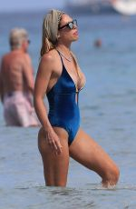 ILARY BLASI in Swimsuit at a Beach in Ibiza 06/22/2019