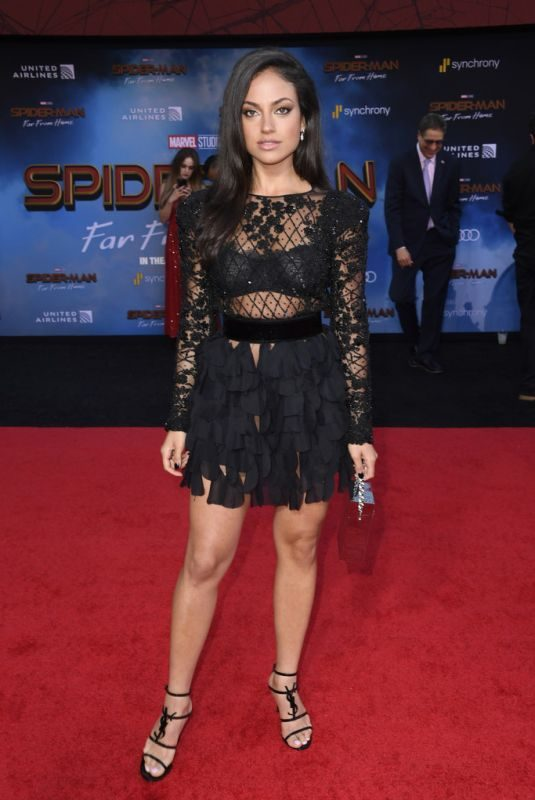 INANNA SARKIS at Spider-Man: Far From Home Premiere in Hollywood 06/26/2019