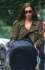 IRINA SHAYK Out and About in New York 06/19/2019
