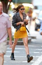 IRINA SHAYK Out and About in New York 06/25/2019