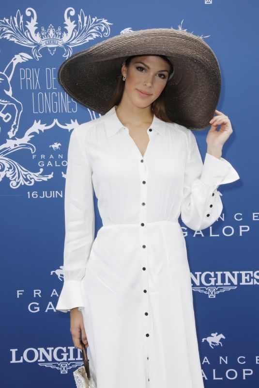 IRIS MITTENAERE at Longines 2019 in Chantilly 06/16/2019