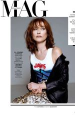 ISABELLE HUPPERT in Madame Figaro, May 2019