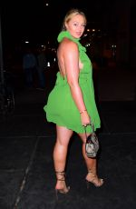 ISKRA LAWRENCE Arrives at Tao in New York 06/11/2019