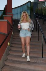 ISKRA LAWRENCE Leaves Starbucks in Los Angeles 06/08/2019