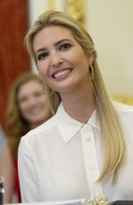 IVANKA TRUMP at U.S. Capitol Women, Peace and Security Roundtable in Washington D.C. 06/11/2019