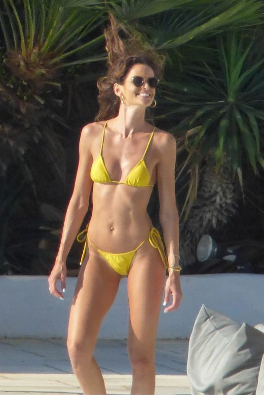 IZABEL GOULART in Bikini on Vacation in Mykonos 06/25/2019