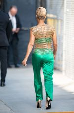JADA PINKETT SMITH Arrives at Jimmy Kimmel Live in Los Angeles 06/05/2019