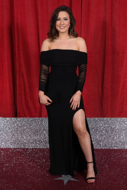 JASMINE ARMFIELD at British Soap Awards 2019 in Manchester 06/01/2019