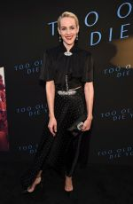 JENA MALONE at Too Old to Die Young Screening in Los Angeles 06/10/2019