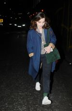 JENNA LOUISE COLEMAN Leaves The Old Vic Theatre in London 06/08/2019